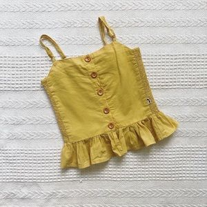 LACEY LANE marigold girl's camisole